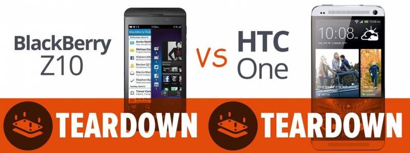 BBz10 vs HTC One