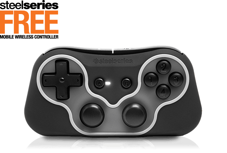 Manette Steelseries Free